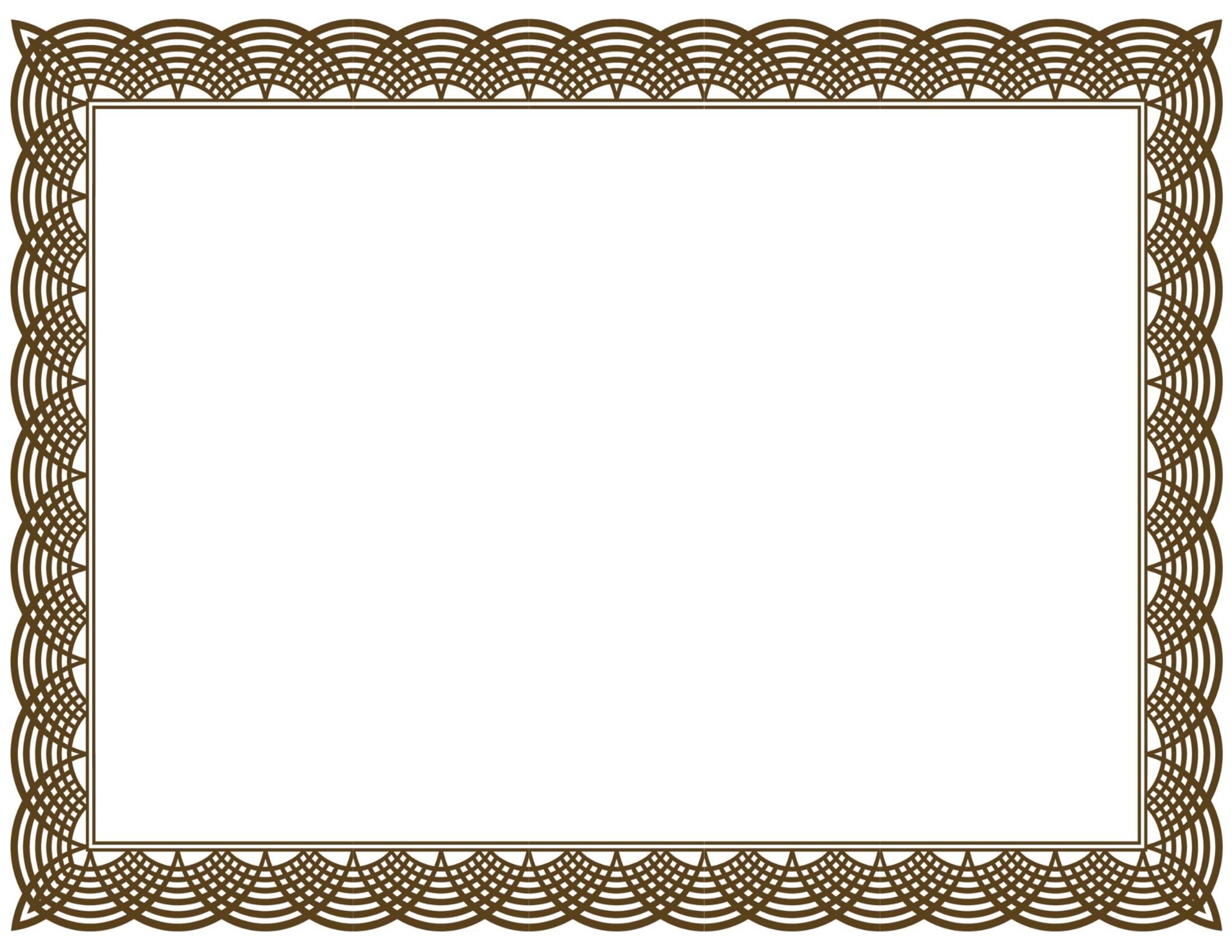 Certificate border clipart free download 1 » Clipart Portal.