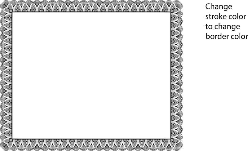 Free Black Certificate Border, Download Free Clip Art, Free Clip Art.