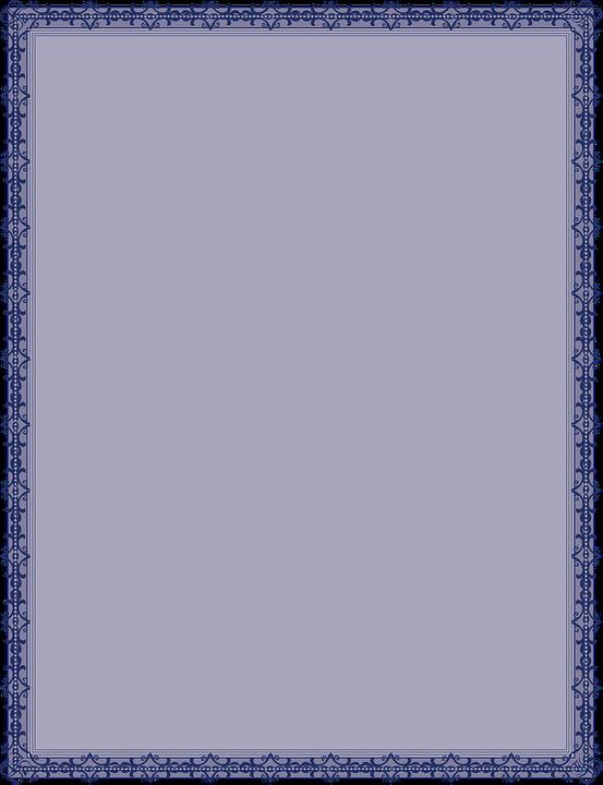 Certificate Border Diploma.