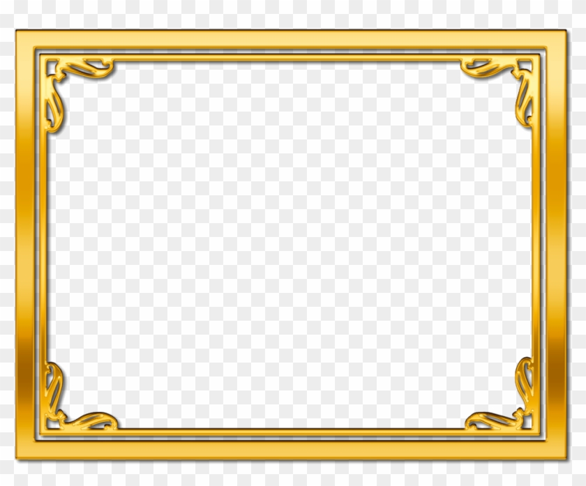 certificate border gold frame clipart transparent borders printable word clipground pngs pngfind