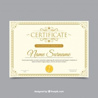 Certificate Border Vectors, Photos and PSD files.