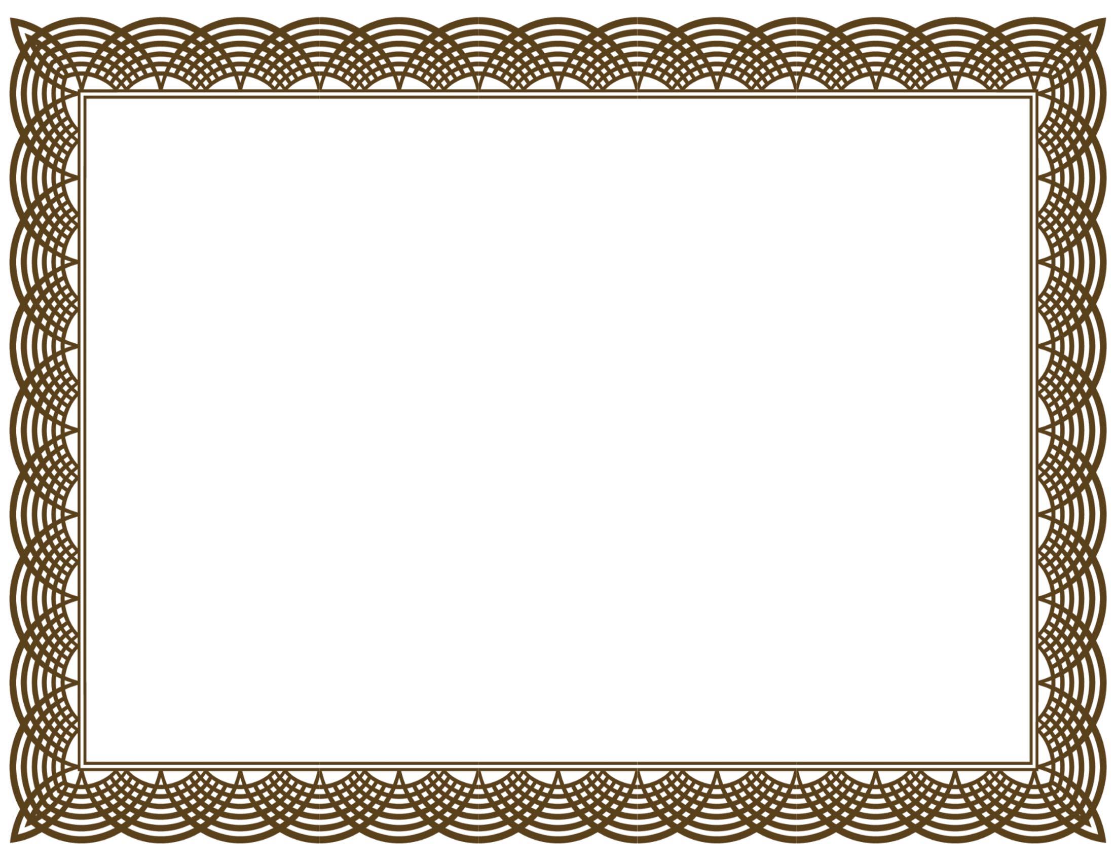Free Certificate Borders, Download Free Clip Art, Free Clip.