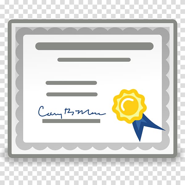 Public key certificate GNOME Certificate authority, Gnome.
