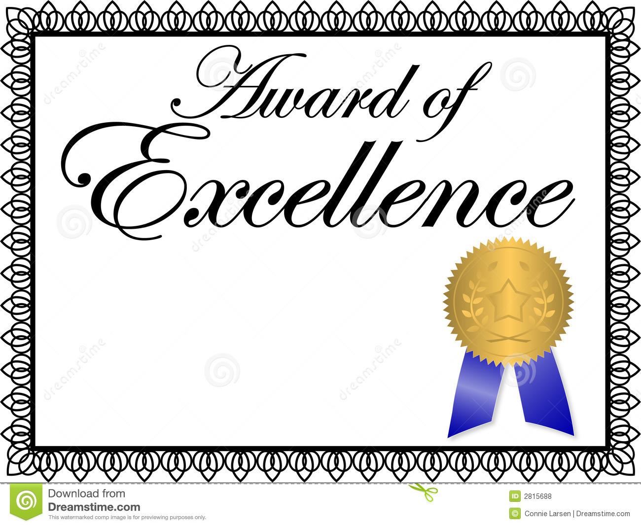 Award Certificate Clipart.