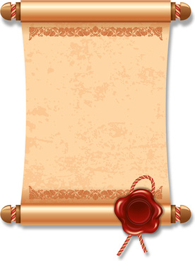 Certificate scroll paper free vector download (6,395 Free.