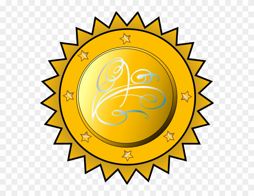 Certificate Seal Clip Art.