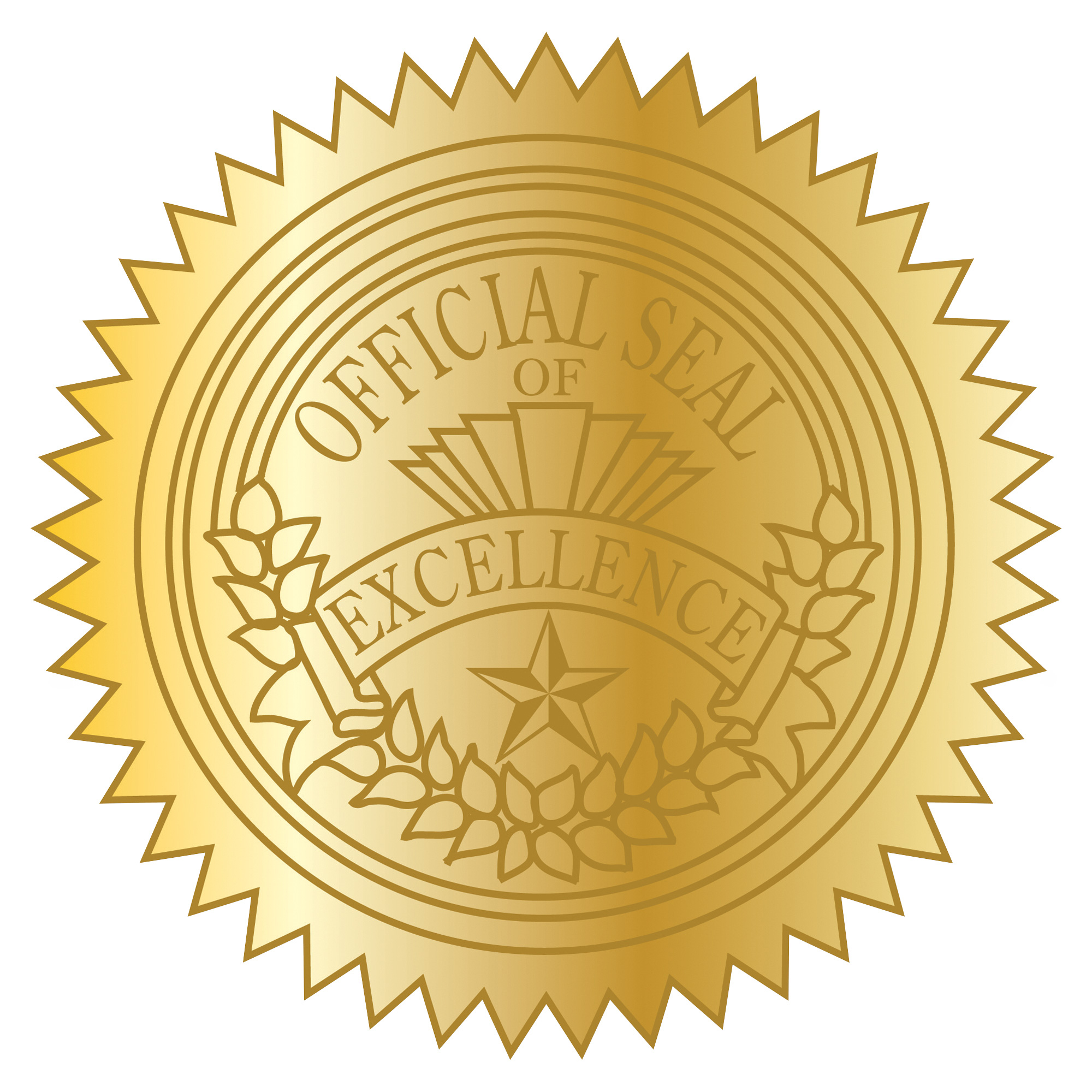 Certificate Seal Choice Image.