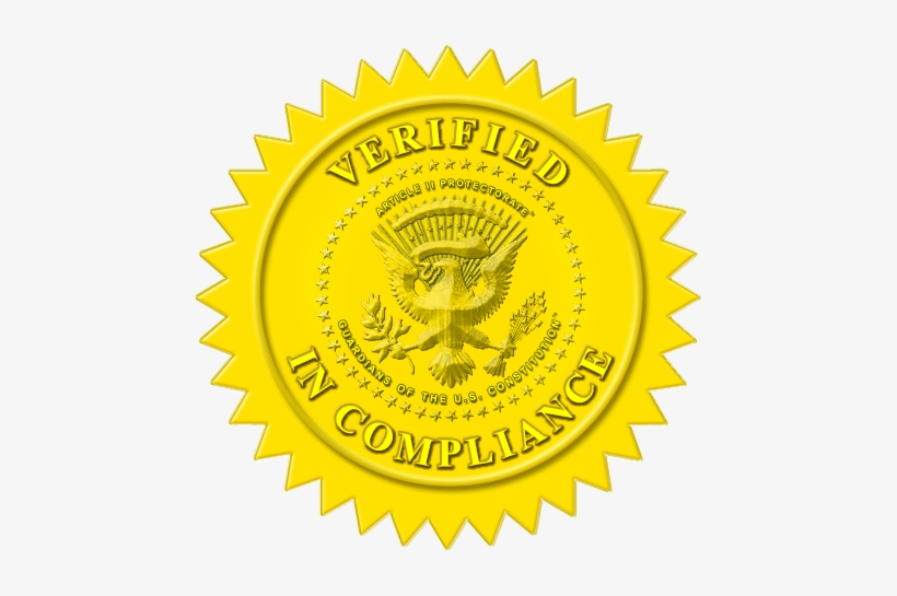 Certificate Gold Seal Png.