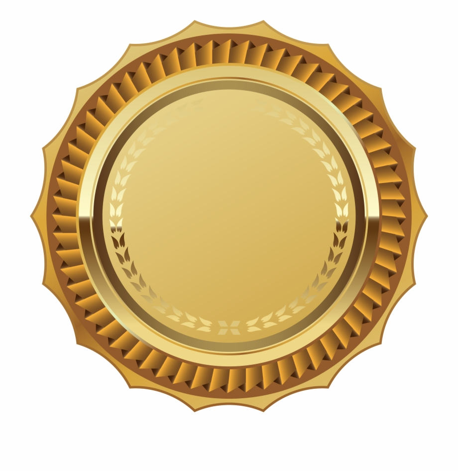 Lace Clipart Medal.