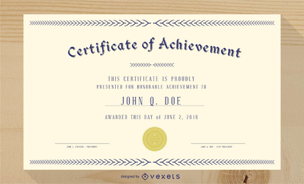 Certificate Vector & Graphics to Download.