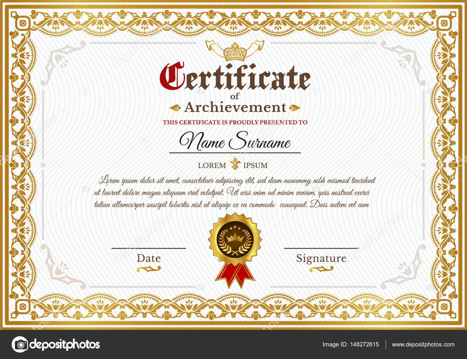 Certificate Background Vector Png 0.