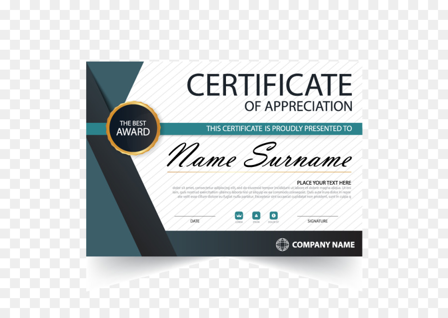Certificate Template png download.