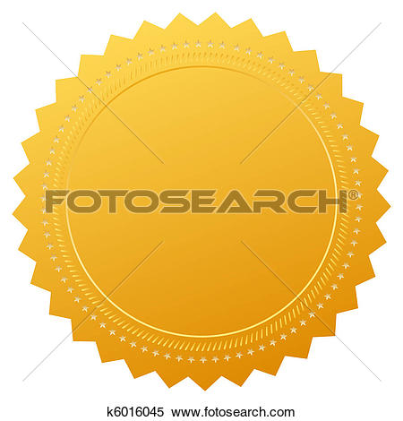 Stock Illustration of certificates with wax stamp k4067915.