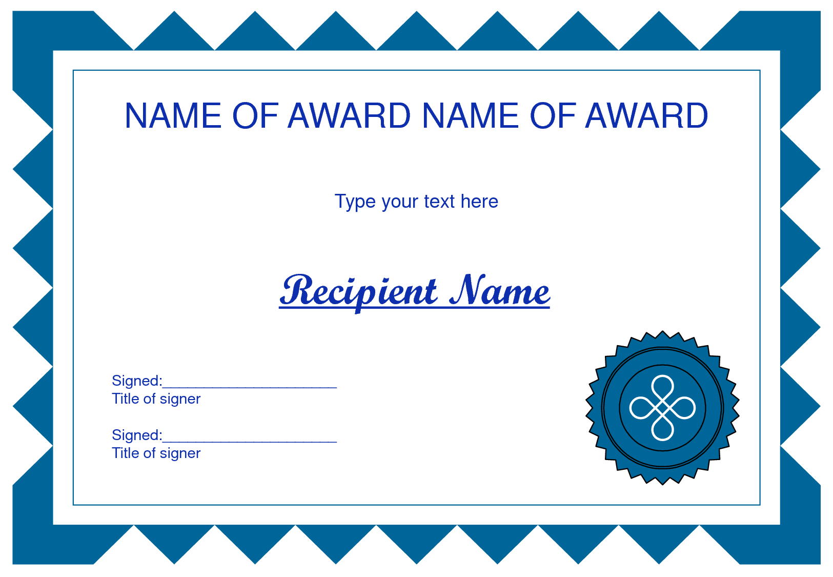 Borders for certificates clipart.