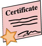 Birth Certificate Clipart.