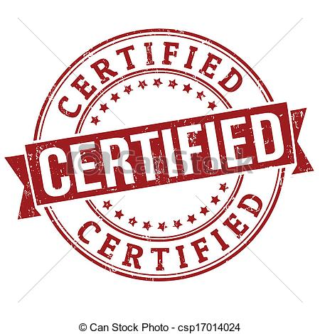 Certification clipart - Clipground