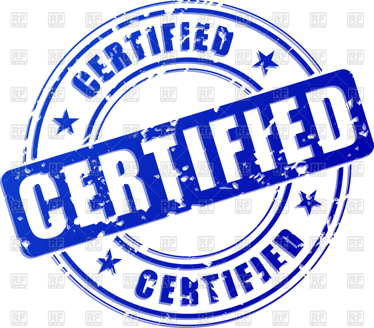 Certify clipart.