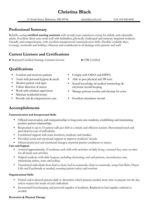 Certifications On Resume Sample Certifications have a large range.