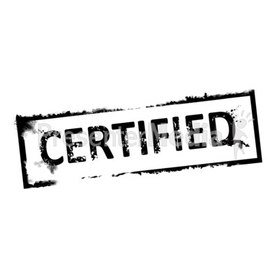 certified clipart clipground