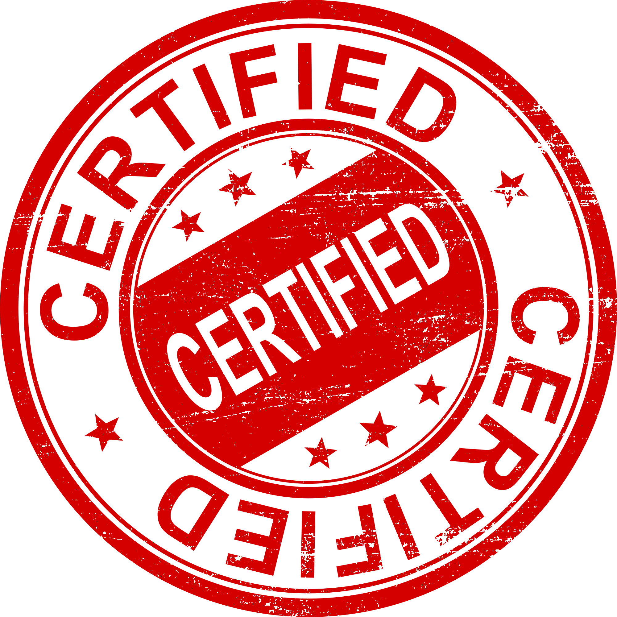 Certified Stamp Png & Free Certified Stamp.png Transparent Images.