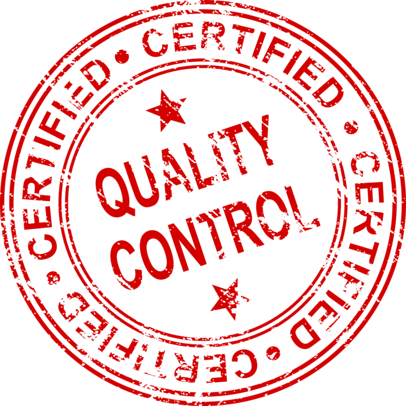 Download Free png quality control certified stamp.