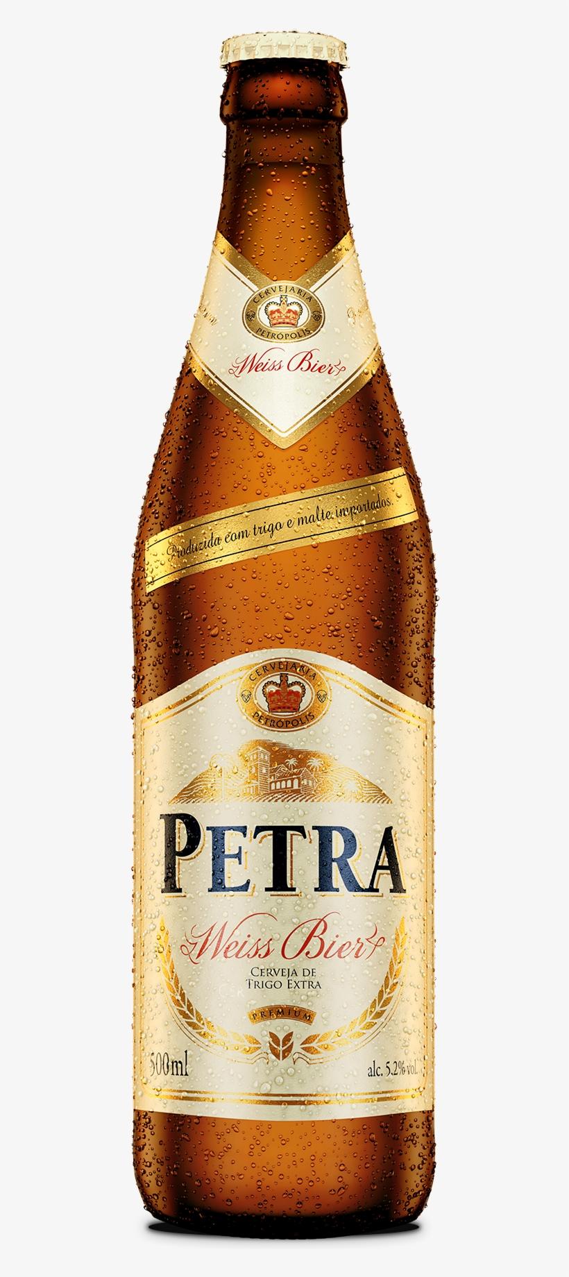 Cerveja Petra Weiss Bier.
