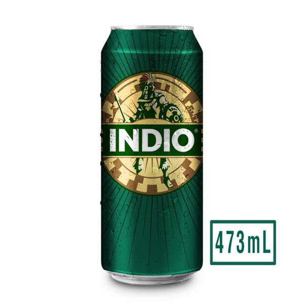 Cerveza Laton Indio.