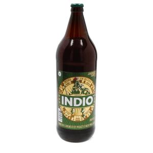 Cerveza oscura indio botella de 12 l.