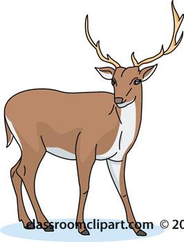 Deer Clipart : deer.