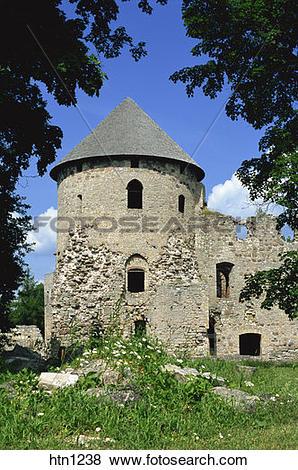 Pictures of Cesis Medieval Castle, Cesis, Latvia htn1238.