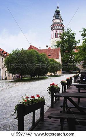 Picture of Low angle view of a castle, Cesky Krumlov Castle, Cesky.