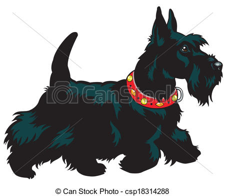 Scottish terrier Clip Art and Stock Illustrations. 221 Scottish.