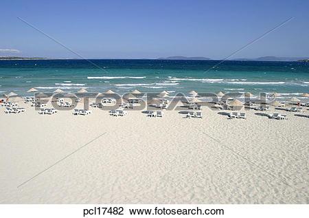 Stock Photo of Izmir, Cesme, Ilica Beach pcl17482.