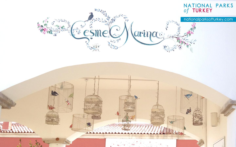 Cesme Marina Wallpapers.