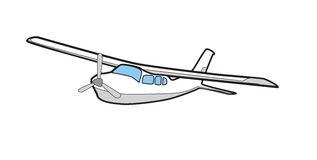 Cessna Stock Illustrations.