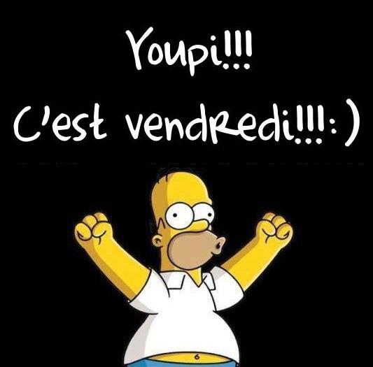 Clipart C'est Vendredi.