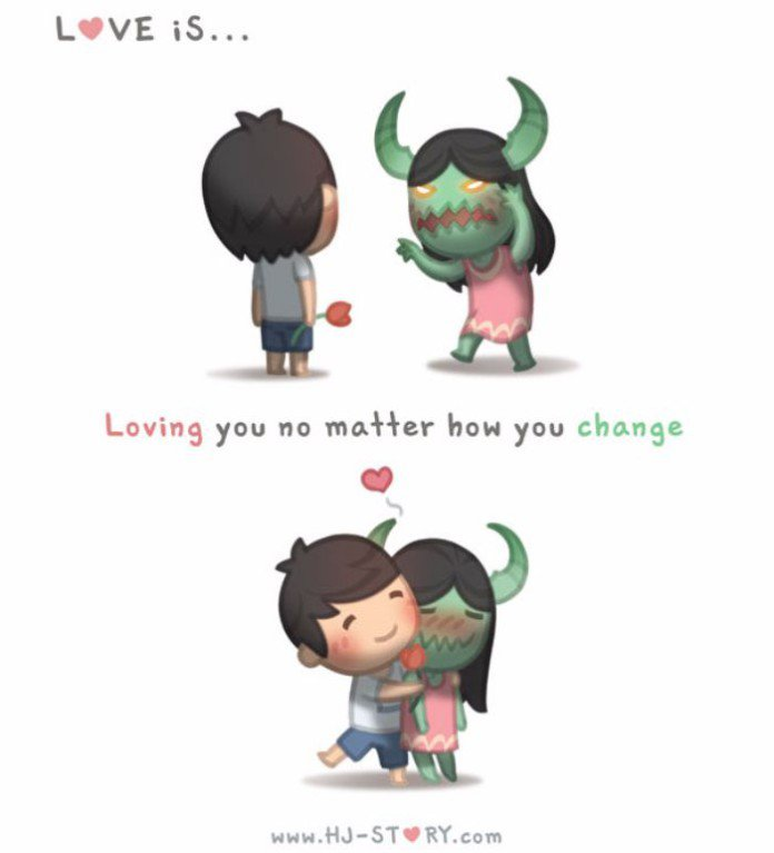 L'amour c'est quoi ? En 24 dessins tendres et drôles, ce Coréen va.