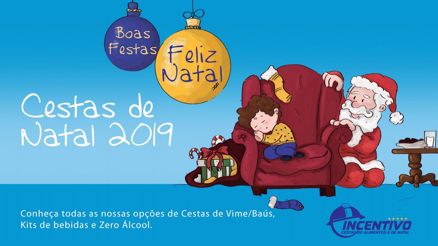 Cestas de Natal 2019 Incentivo by Cesta Incentivo.