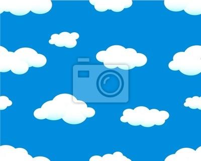 Adesivo céu com nuvens perfeita.