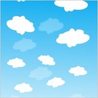 Sunny Cloud Clipart.