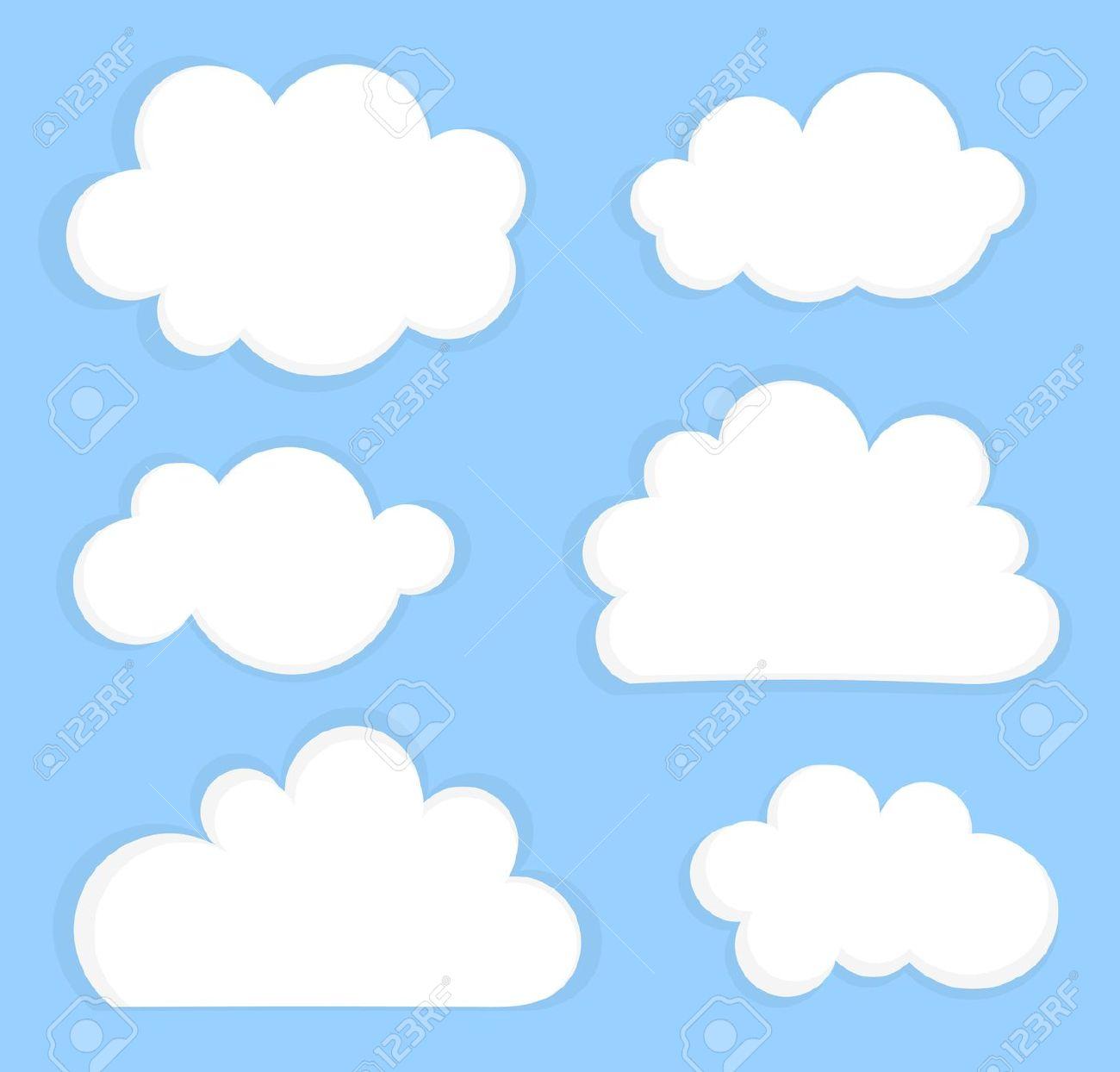 Nuvens clipart.
