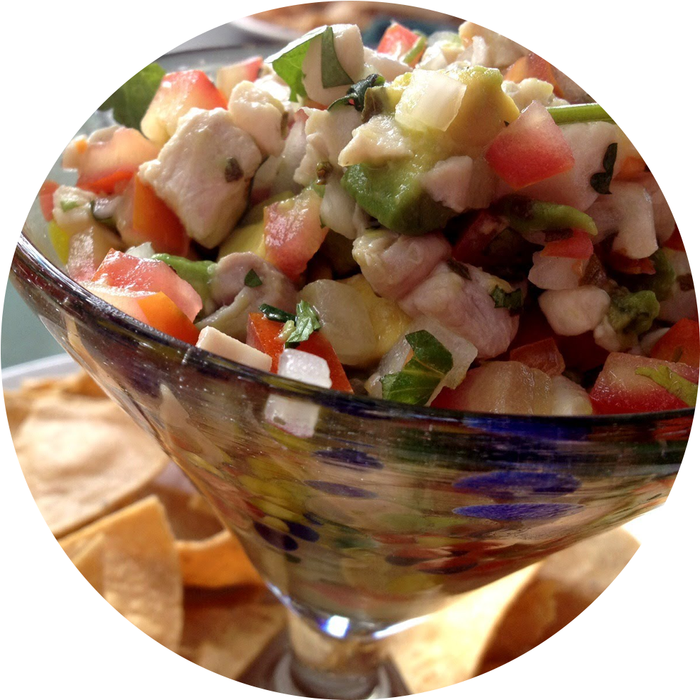 Ceviche PNG Images.