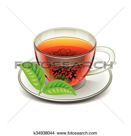 Clipart of Ceylon tea isolated on white vector k34938044.