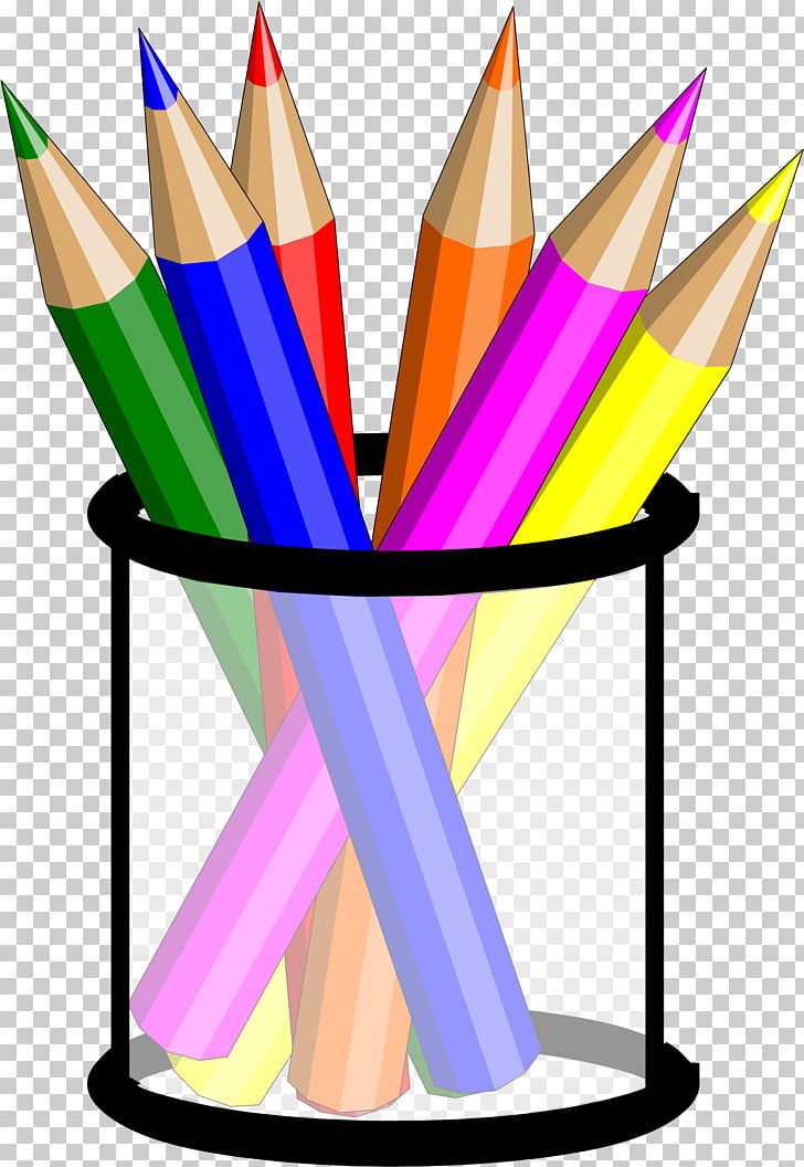 Colored pencil Drawing , CRAYONS PNG clipart.