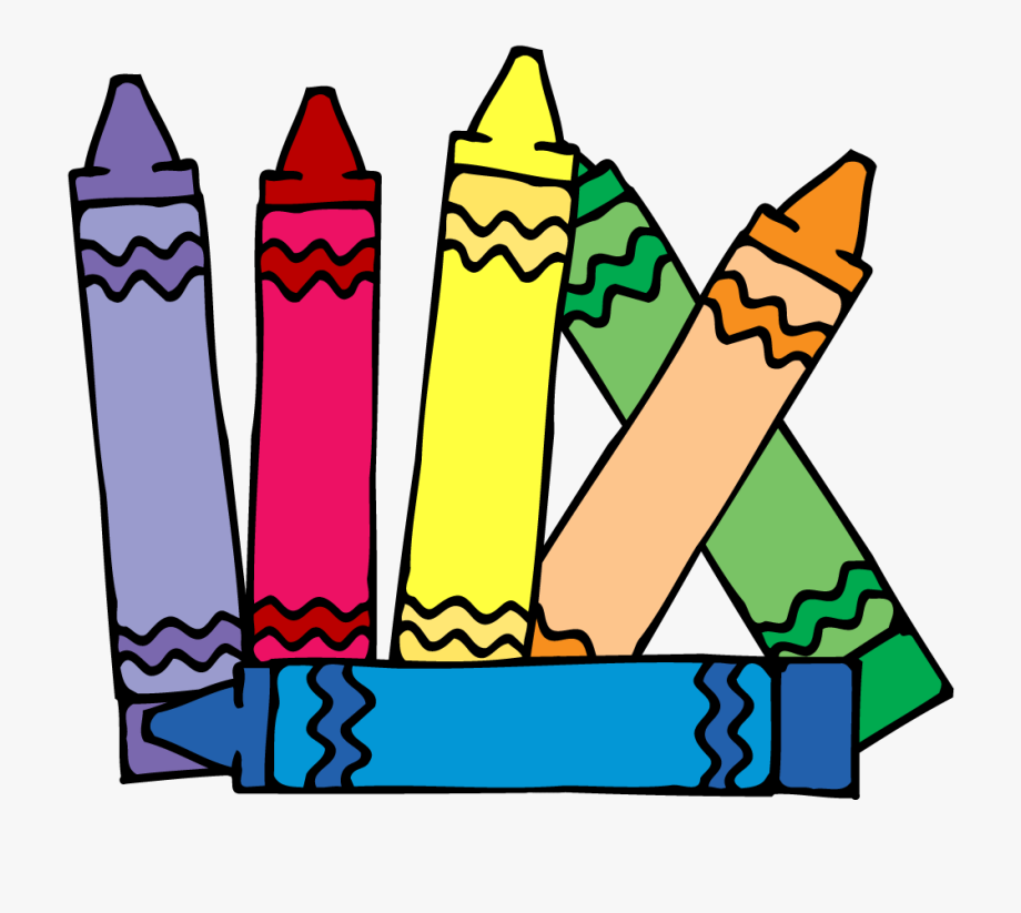 Crayons Clipart.