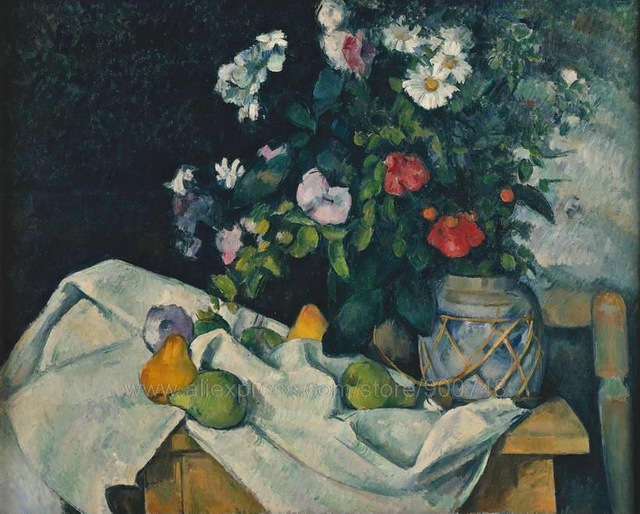 Aliexpress.com : Buy Paul Cezanne Still Life with Dish of Peaches.