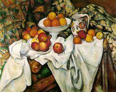 Paul Cezanne Clip Art {Still.