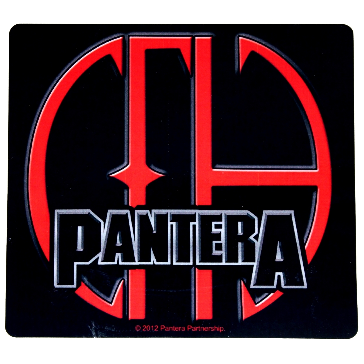 Sticker Pantera Cowboys From Hell CFH Album Logo Groove Metal Music Band  Decal.