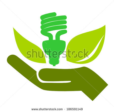 Compact fluorescent light bulb clip art free vector download.