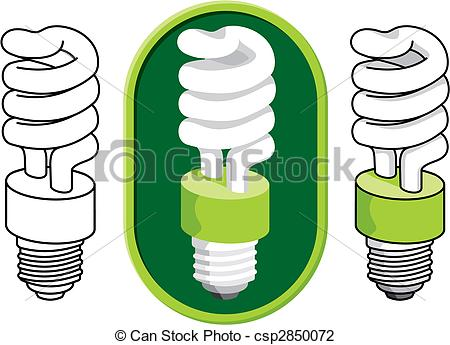 Compact fluorescent lightbulb Illustrations and Clip Art. 805.